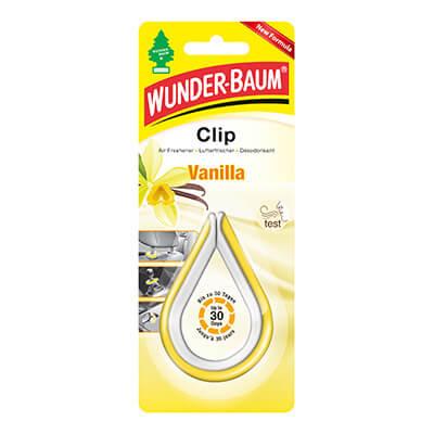 Samochodowe odświeżacze powietrza - WB Clip Vanilla