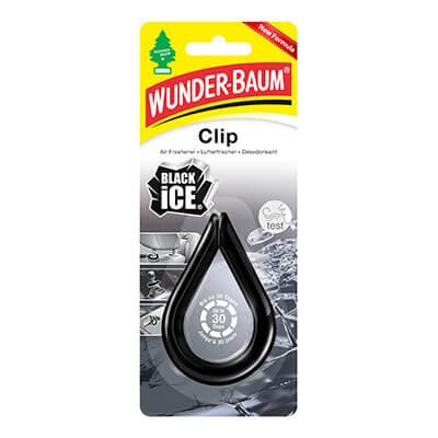 Samochodowe odświeżacze powietrza - WB Clip Black-Ice
