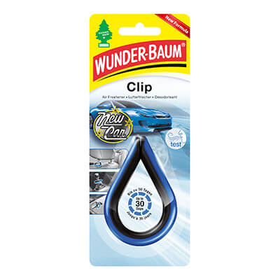Samochodowe odświeżacze powietrza - WB Clip New-Car