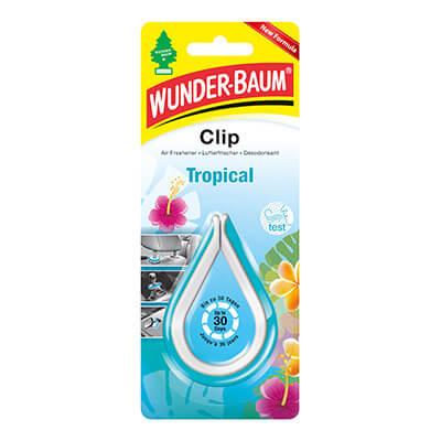 Samochodowe odświeżacze powietrza - WB Clip Tropical