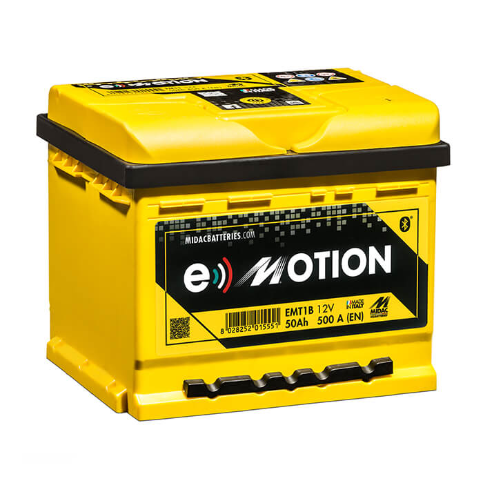 AKUMULATOR MIDAC e-Motion 50Ah 500A