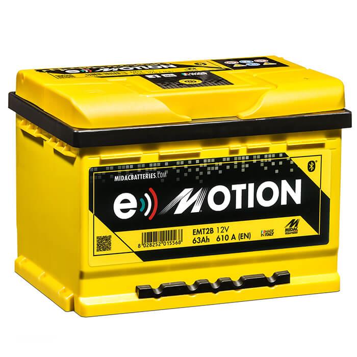 AKUMULATOR MIDAC e-Motion 63Ah 610A