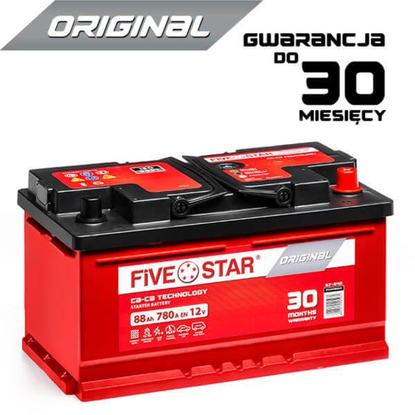 AKUMULATOR FIVE STAR ORIGINAL_588R_88Ah_780A_LB4