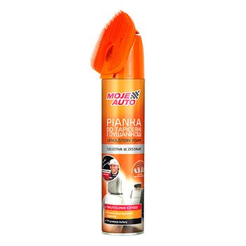Pianka do czyszczenia tapicerki z neutralizatorem zapachów 520 ml - Szczotka